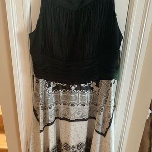 Black White summer dress -any event or date night!